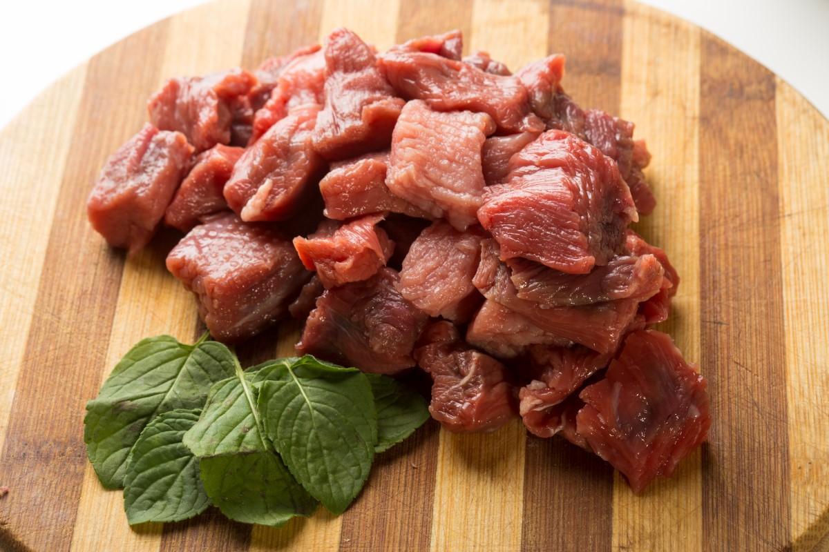 Juneće meso za gulaš